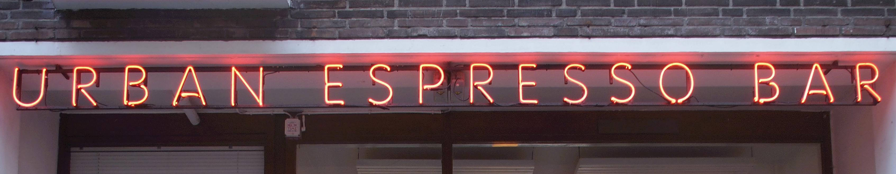Urban Espresso Bar Rotterdam