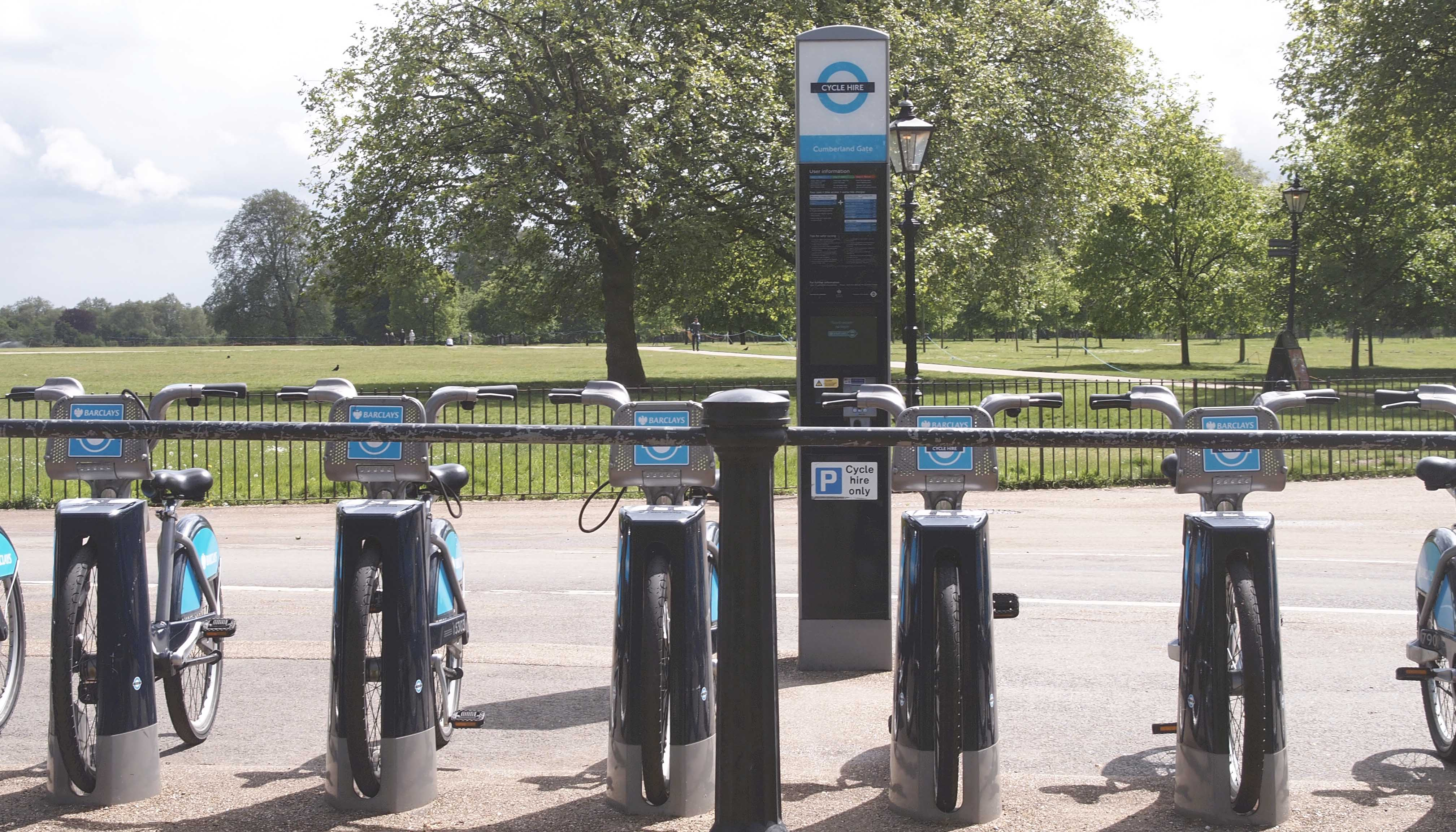Barclays bikes